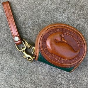 Vintage Dooney & Bourke AWL Big Duck Coin Purse